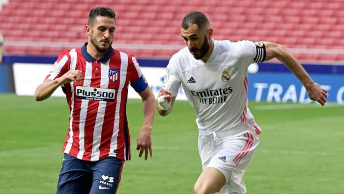 Atletico Madrid, Real Madrid, Koke, Karim Benzema