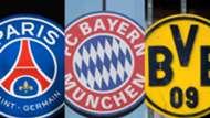 PSG Bayern Dortmund