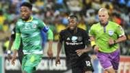 Mduduzi Mdantsane, Baroka FC & Justin Shonga, Orlando Pirates, December 2018