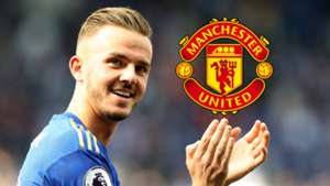 James Maddison, Man Utd logo