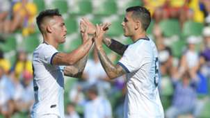 Lautaro Martinez Leandro Paredes Argentina Ecuador Friendly 13102019