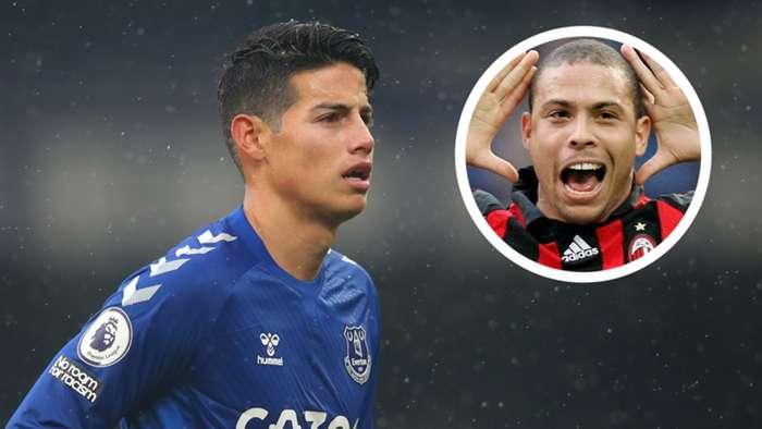 James Rodriguez Ronaldo Milan