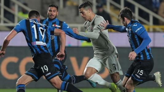 Ronaldo's penalties salvage 2-2 draw for Juventus against ...  |Juventus- Atalanta