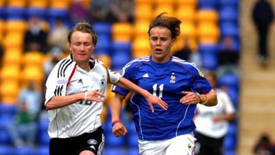 Sandrine Dusang France Euro 2005