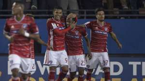 Cristian Colman Kellyn Acosta Maxi Urruti FC Dallas