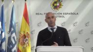 Luis Rubiales presidente RFEF