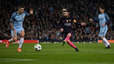 Lionel Messi Manchester City 2016