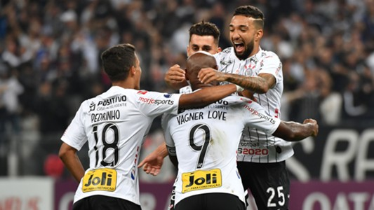 Clayson Corinthians Montevideo Wanderers Copa Sudamericana 25072019