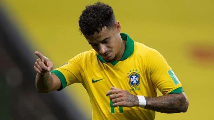 Coutinho Brasil Bolívia Eliminatórias 10 10 2020