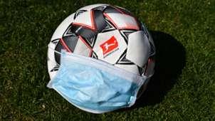 Coronavirus Bundesliga Ball Face Mask