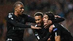 Mbappé, Neymar y Cavani encabezan la lista de mejores tríos goleadores europeos