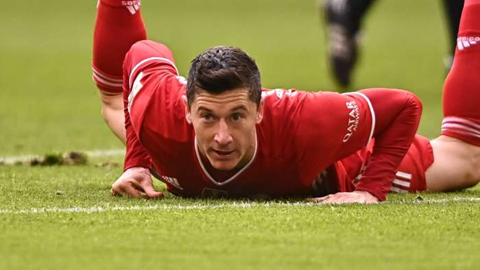Robert Lewandowski Bayern Munich 2020-21