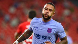 Memphis Depay Athletic Club vs Barcelona La Liga 2021-22