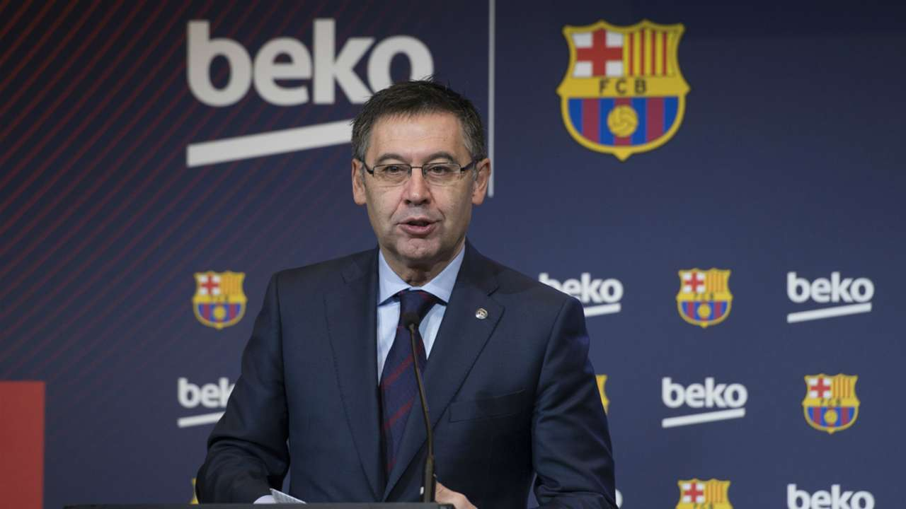 Barcelona chairman Josep Maria Bartomeu