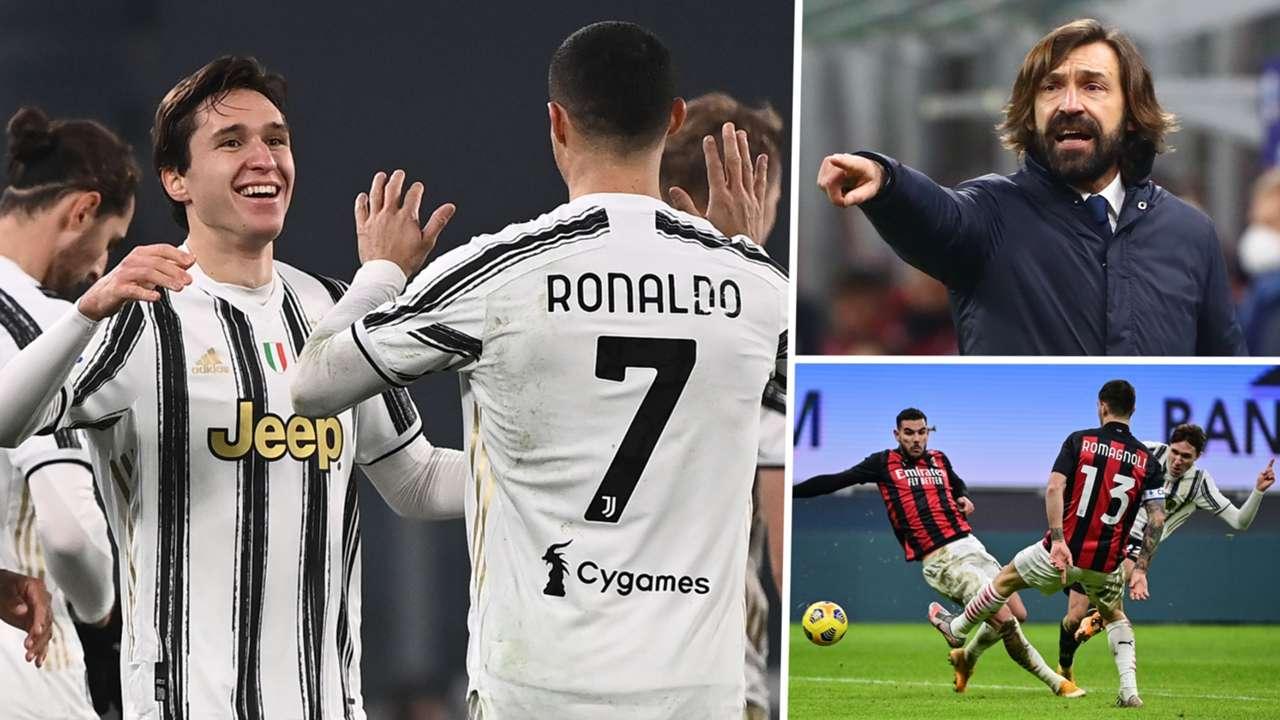 Federico Chiesa Cristiano Ronaldo Andrea Pirlo Juventus GFX
