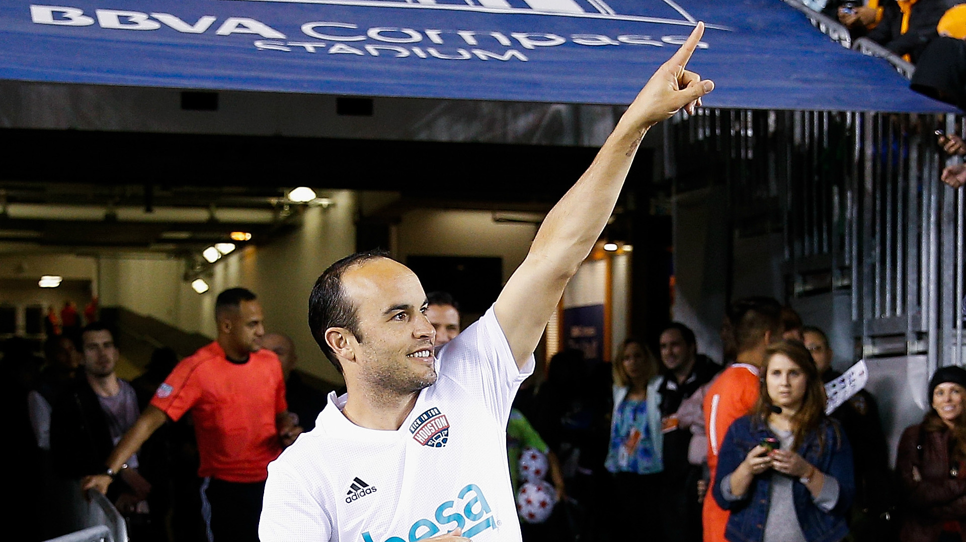 Landon Donovan Houston charity game