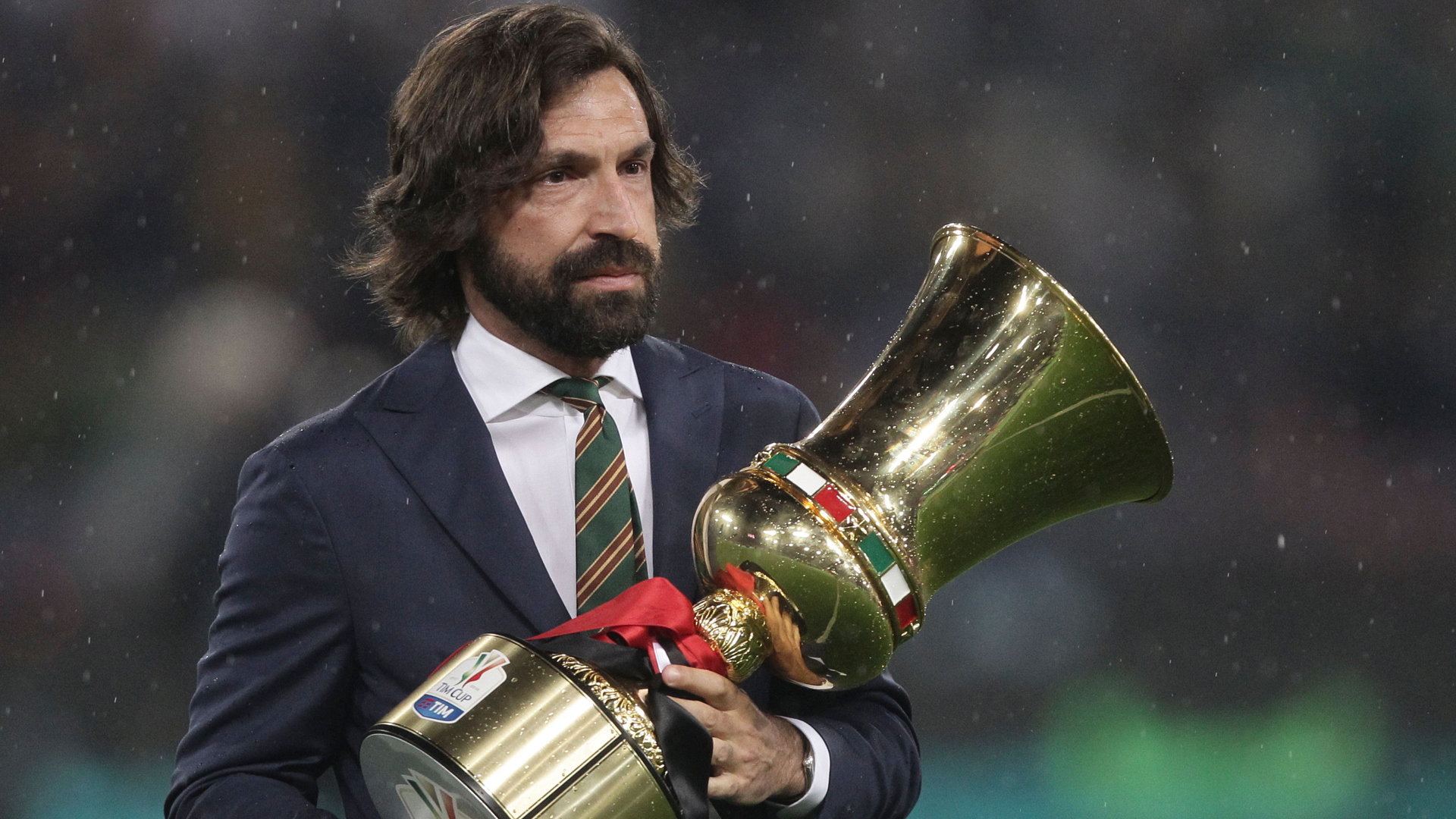 'He starts at the top with the best team' - Mancini sees Pirlo as 'lucky' but a good fit for Juventus