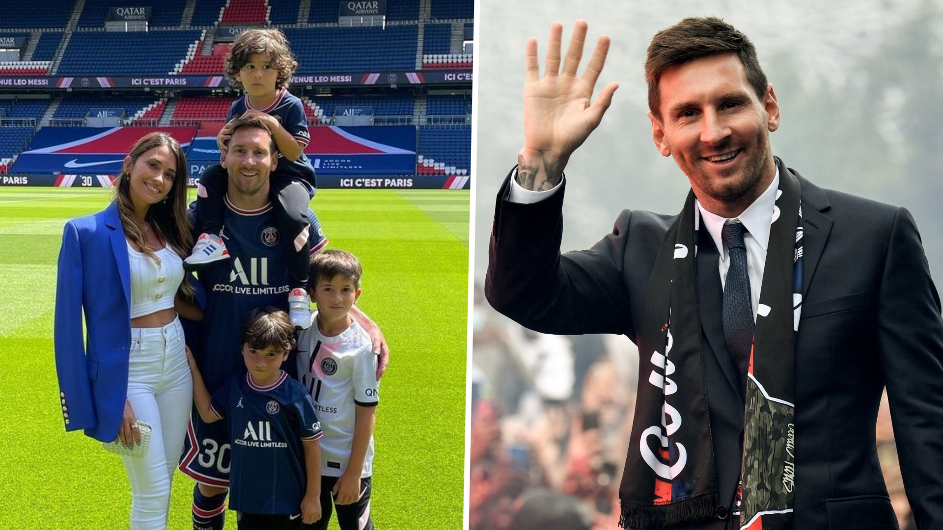 'Together we will continue writing our history' - Messi's wife Antonela Rocuzzo looking forward to 'new chapter' at PSG
