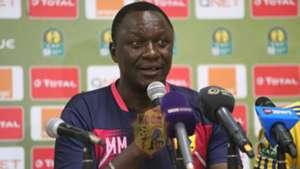 KCCA FC coach Mike Mutebi speaks.