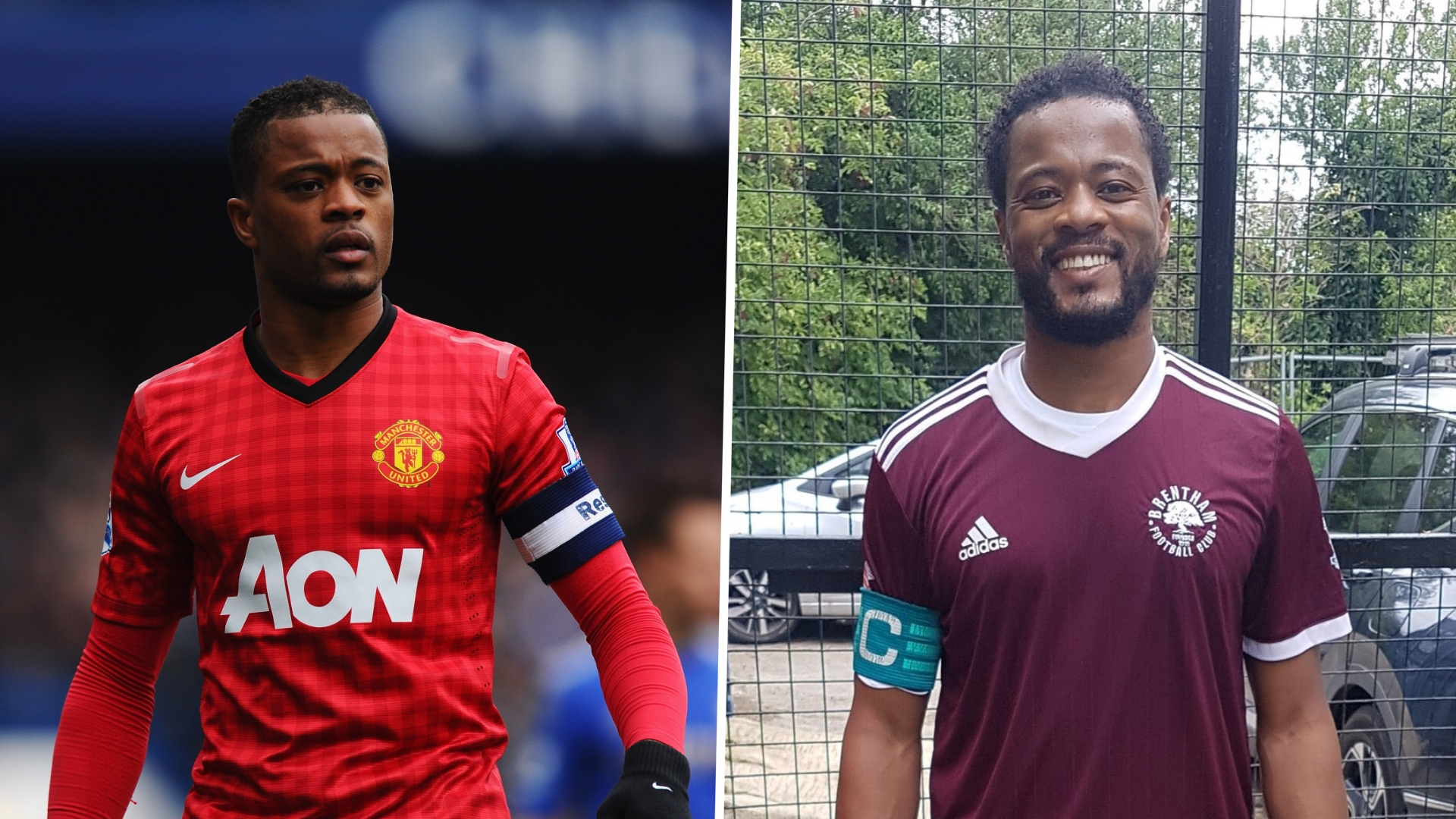 Ex-Man Utd star Evra makes surprise cameo for 11th-tier English club