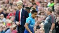 Alexis Sanchez Arsene Wenger Arsenal