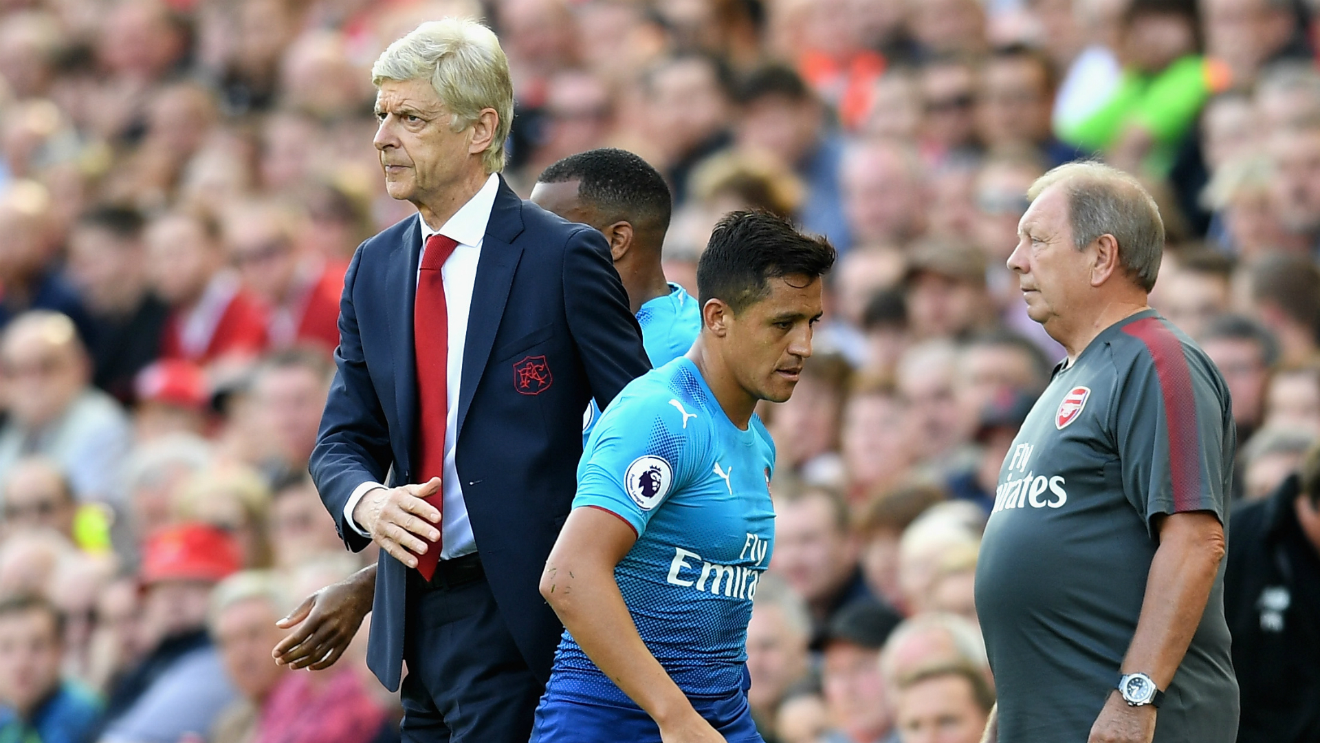 Alexis Sanchez Arsene Wenger Arsenal