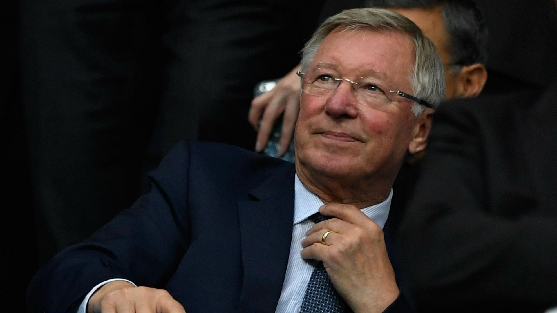 Sir Alex Ferguson August 2017
