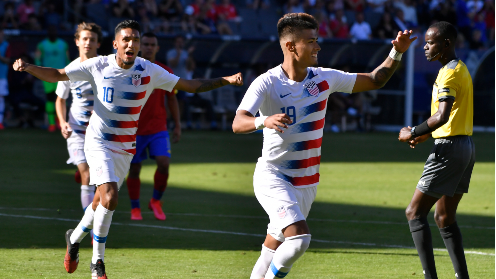 'I had a good feeling I was going to score' - Llanez recalls debut goal for USMNT