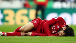 Mohamed Salah injured Liverpool Newcastle