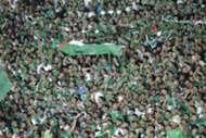 جماهير الرجاء خلال مواجهة هلال القدس في بطولة كأس محمد السادس