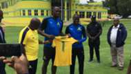 Usain Bolt at Mamelodi Sundowns.