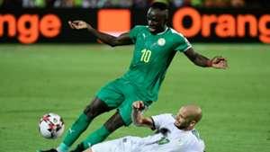 Sadio Mane, Adlene Guedioura - Algeria vs Senegal