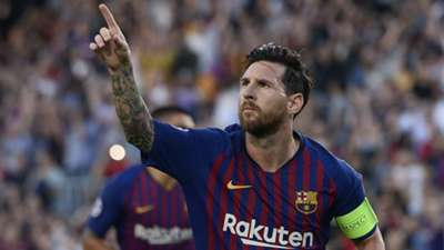 Lionel Messi Barcelona PSV Champions League 180918