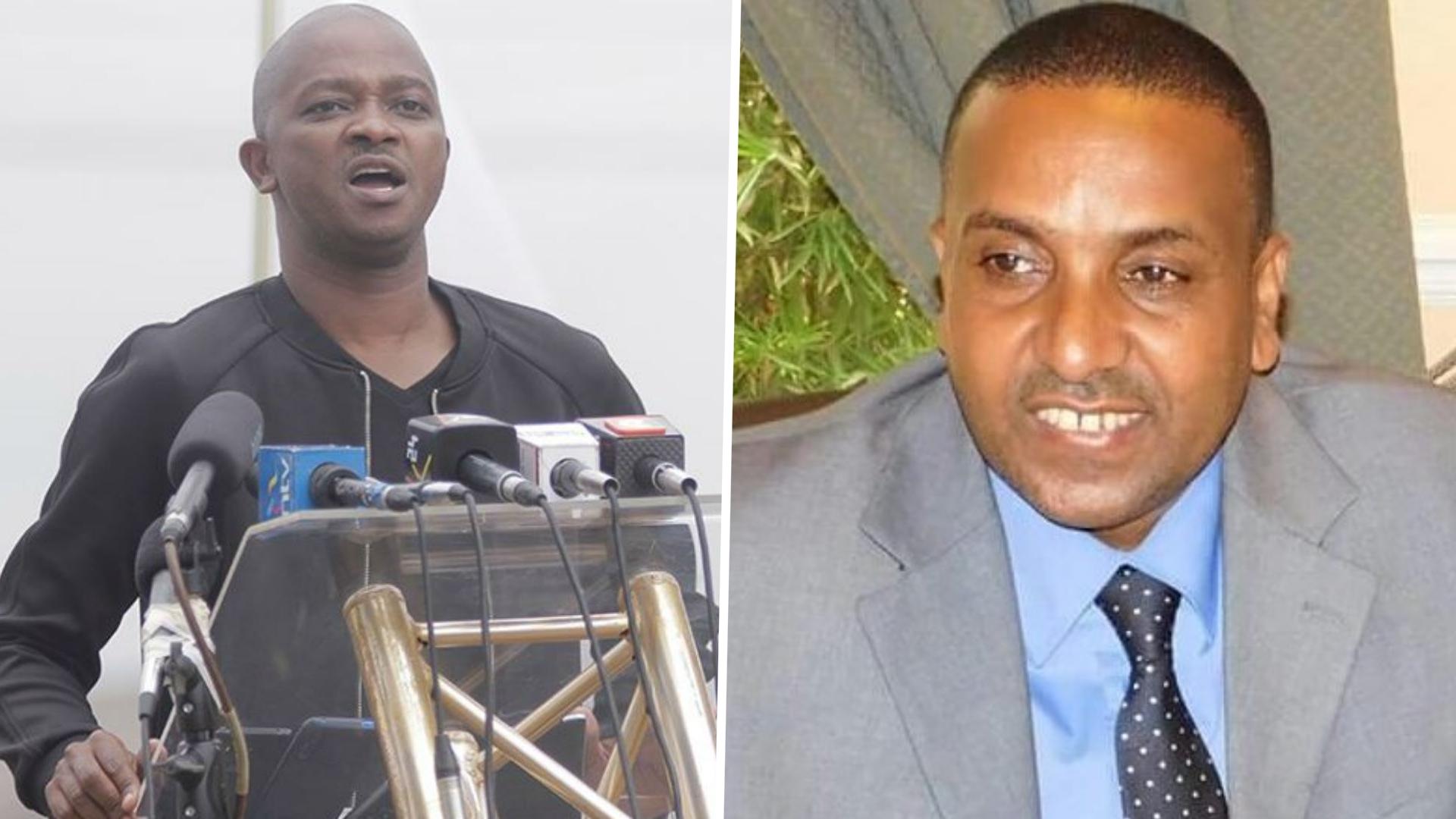 Mbarak: FKF presidential aspirant believes Mwendwa is panicking