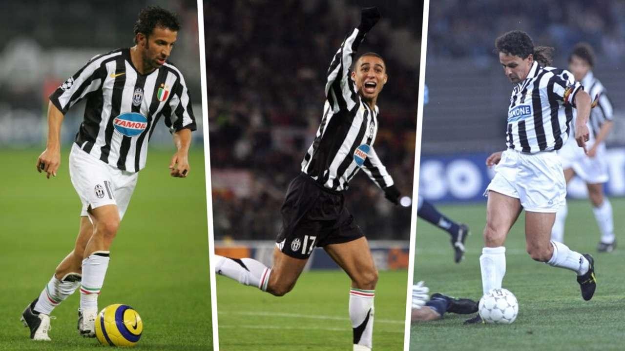 Alessandro Del Piero, David Trezeguet, Roberto Baggio