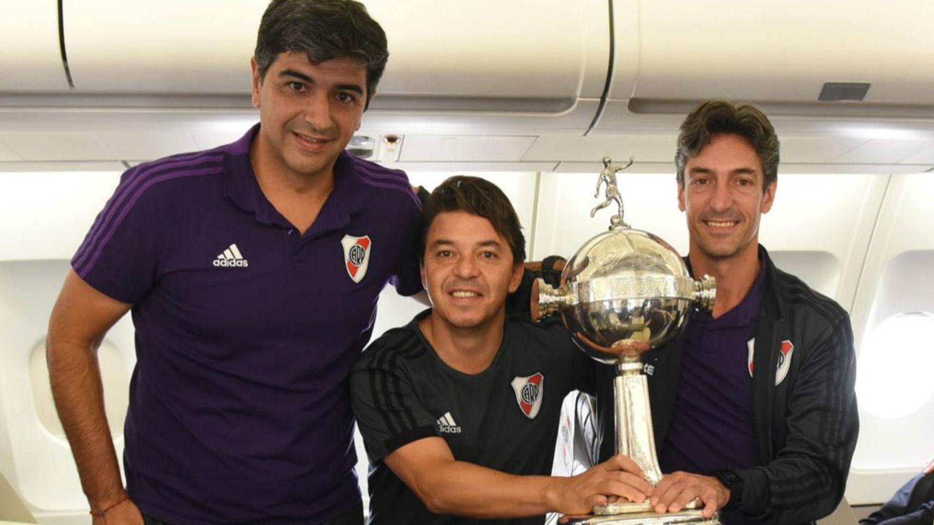 Biscay Gallardo Bujan River Copa Libertadores 2018
