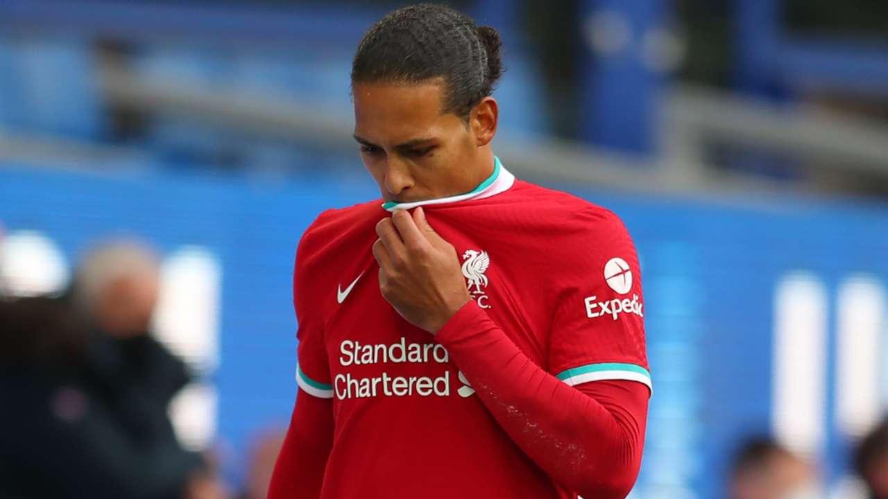 Virgil van Dijk Liverpool 2020-21