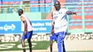 """Tooro United head coach Eric """"Kawoowo"""" Ndifuna."""