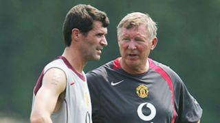 Roy Keane Sir Alex Ferguson Manchester United