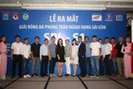 Saigon Premier League lễ ra mắt