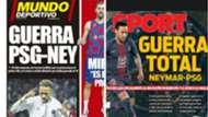 portadas Neymar PSG