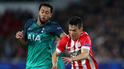 Mousa Dembele Hirving Lozano Tottenham PSV 2018-19