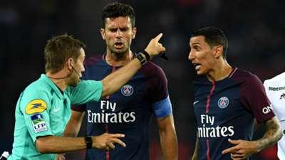 Thiago Motta Angel Di Maria PSG ASSE Ligue 1 25082017