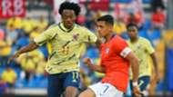 Juan Cuadrado Alexis Sanchez Colombia Chile