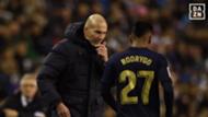 Rodrygo Zidane Real Madrid