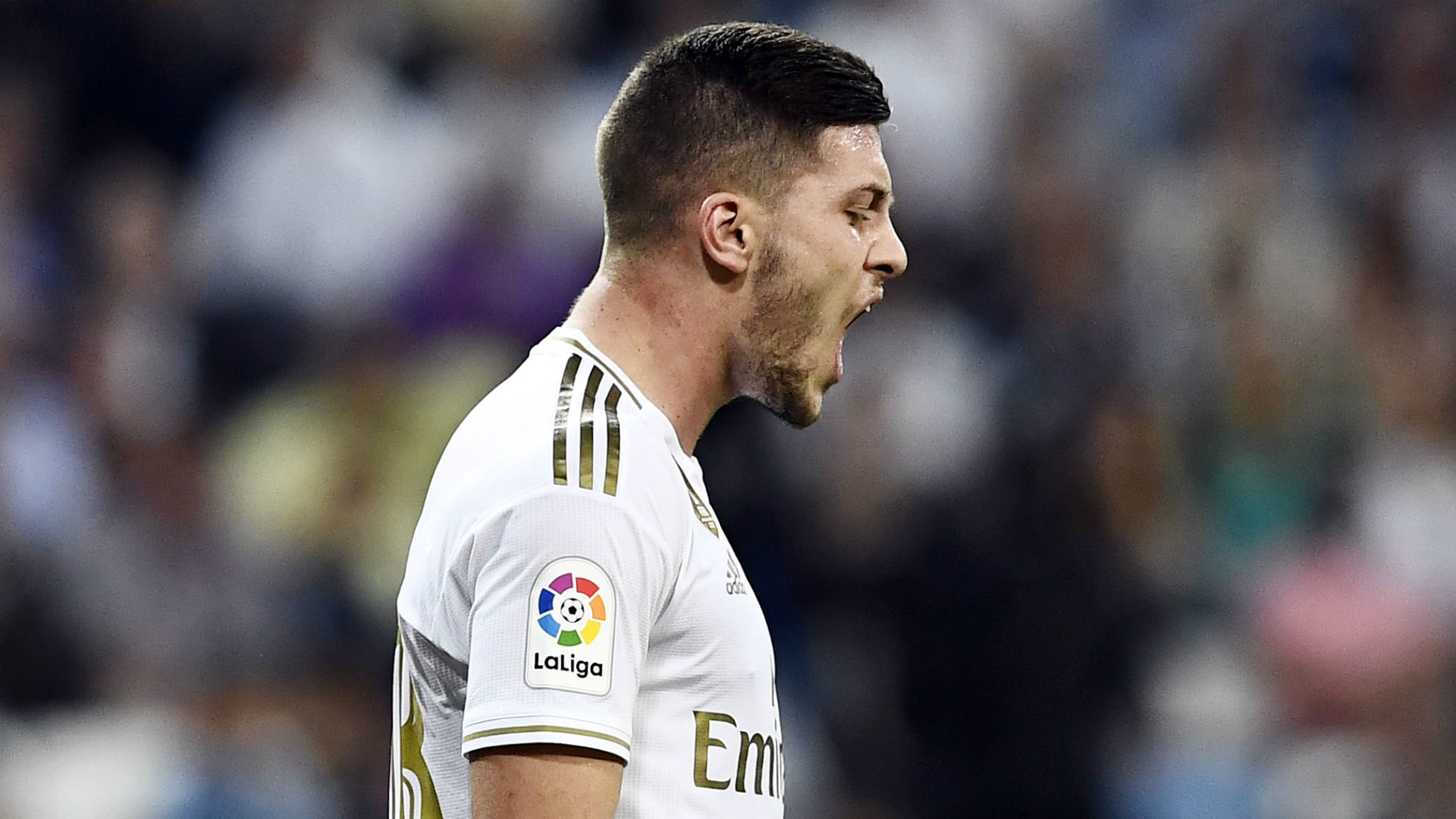 Jovic's father 'can't say anything' after tabloid claims injured Real Madrid striker fell off a wall
