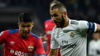 Karim Benzema, CSKA vs Real Madrid