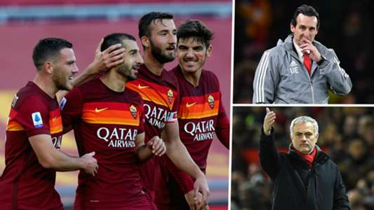 Man Utd and Arsenal flop Mkhitaryan leading Roma's surprise Scudetto challenge | Goal.com