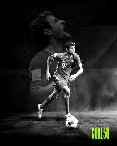 Thomas Muller Goal 50