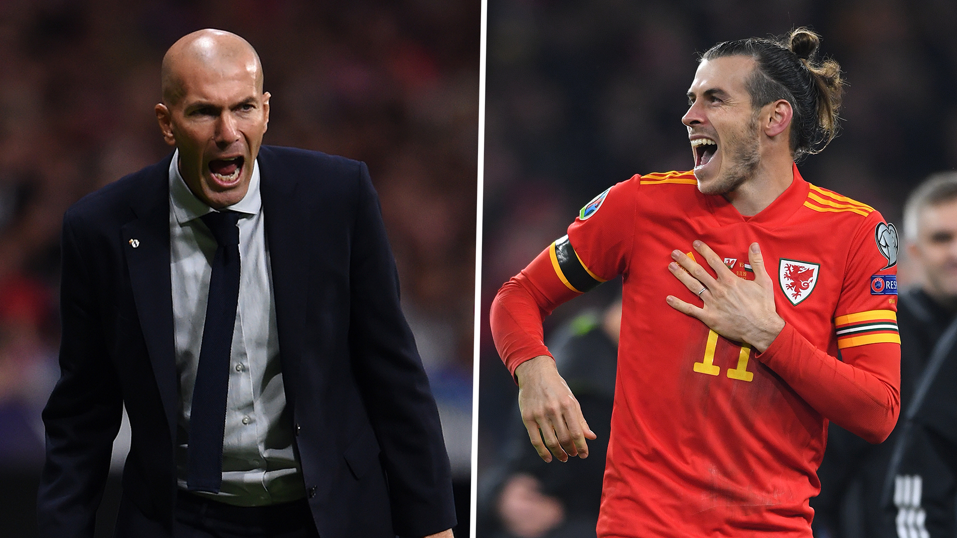'When Bale scored in the Champions League final he was happy' - Zidane plays down Wales banner criticism